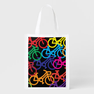 Bicycles Reusable Grocery Bags ZT