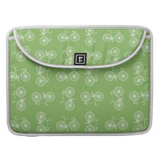 Bicycles seamless pattern MacBook pro sleeve