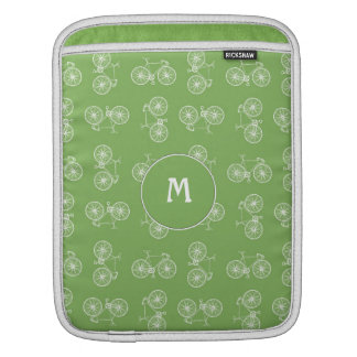 Bicycles seamless pattern sleeve for iPads