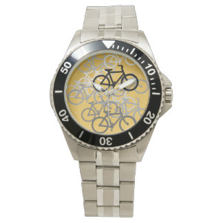 bicycles select your background color wrist watches - Color Watches