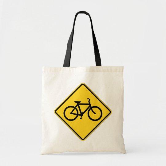 bicycles sign tote bag
