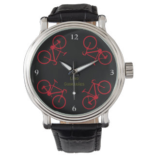 bicycles . the cycling hour wrist watches