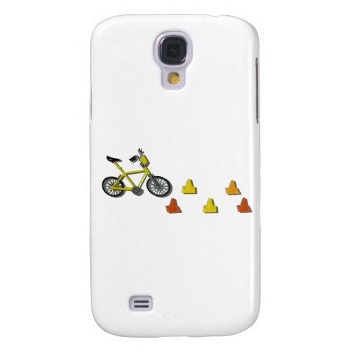 BicycleTrafficCones100711 Funda Para Galaxy S4