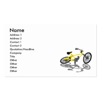 BicycleViewFromBelow112010, Name, Address 1, Ad... Business Card