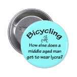 Bicycling 2 Inch Round Button