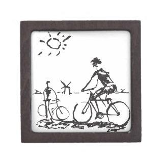 Bicycling Bike Sketch Gift Box