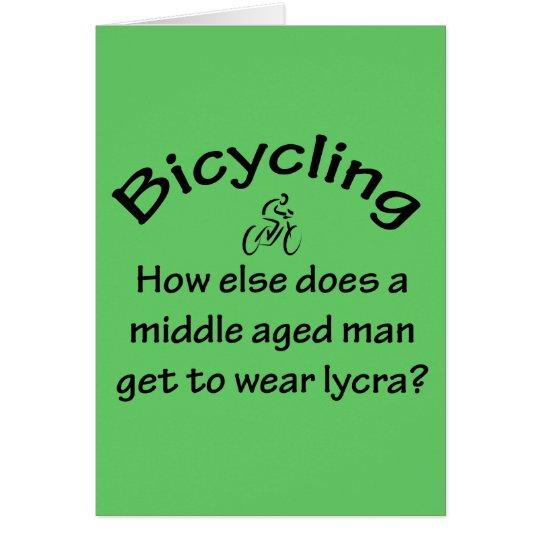 Bicycling Card
