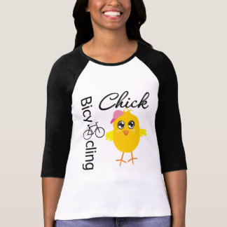 Bicycling Chick T-shirts