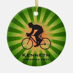 Bicycling Cycling Ornament