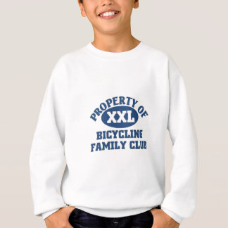 Bicycling family club sweatshirt