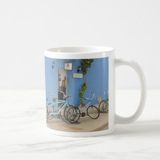 Bicycling in Cartagena Colombia Coffee Mug