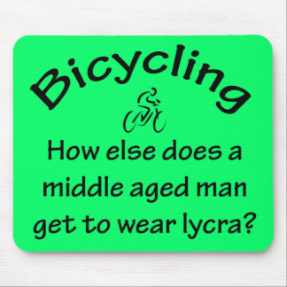 Bicycling Mouse Pad
