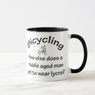 Bicycling Mug