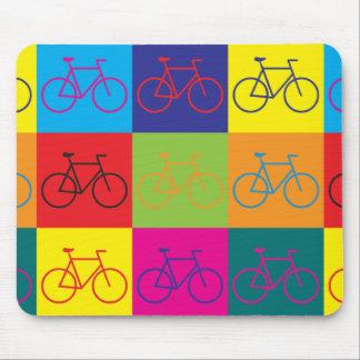 Bicycling Pop Art Mouse Mat