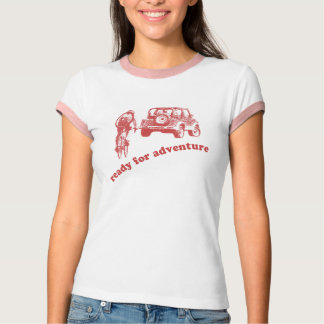 Bicyclist and Motorist are ready for adventure Shi T-Shirt
