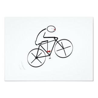 Bicyclist Birthday Card