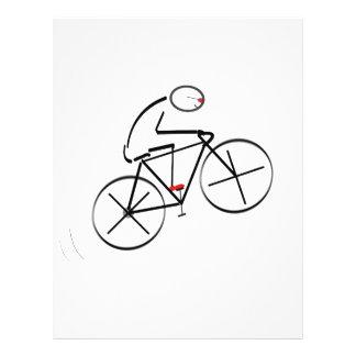 Bicyclist Birthday Flyer