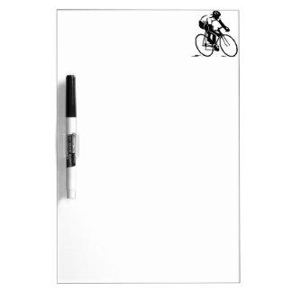 Bicyclist Cyclist Rider Dry-Erase Whiteboard