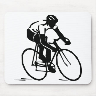 Bicyclist/Cyclist/Rider Mousepads