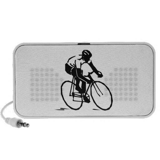 Bicyclist/Cyclist/Rider iPhone Speaker
