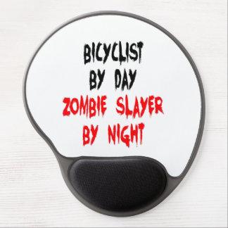 Bicyclist del asesino del zombi alfombrillas con gel