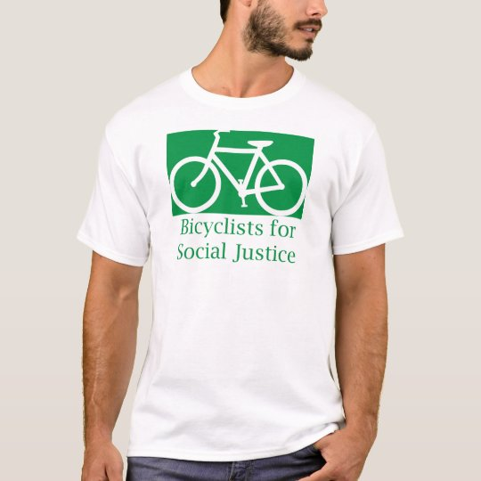 bicyclists for social justice T-Shirt