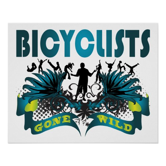 Bicyclists Gone Wild Poster