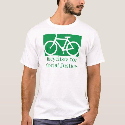 bicyclists para la justicia social playera