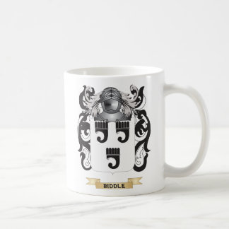 Biddle-2 Coat of Arms (Family Crest) Coffee Mugs