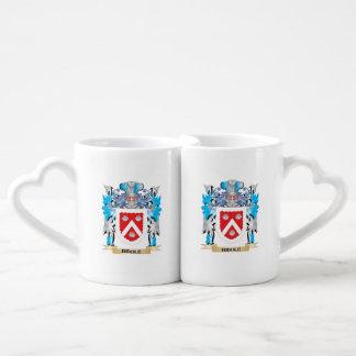 Biddle Coat of Arms Lovers Mug Sets