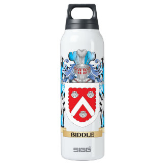 Biddle Coat of Arms 16 Oz Insulated SIGG Thermos Water Bottle