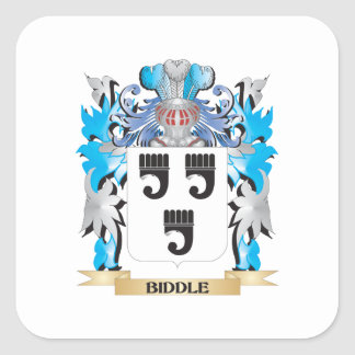Biddle Coat of Arms Sticker