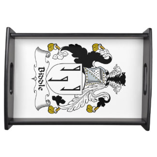 Biddle Family Crest Food Trays