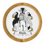 Biddle Family Crest Round Cheeseboard