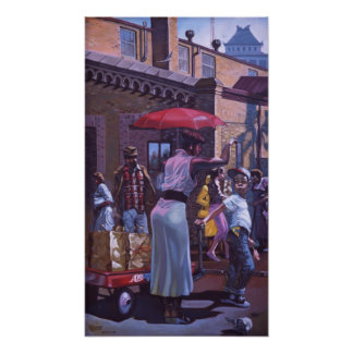 Biddle Market Memoirs Print