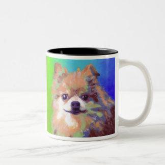 Biddle's Little Foot Two-Tone Coffee Mug