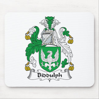 Biddulph Family Crest Mouse Pad