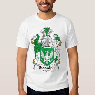 Biddulph Family Crest Shirt