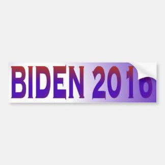 Biden 2016 car bumper sticker