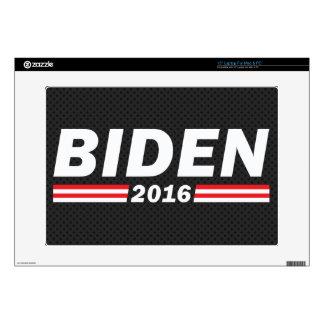 """Biden 2016 (Joe Biden) Decals For 15"""" Laptops"""