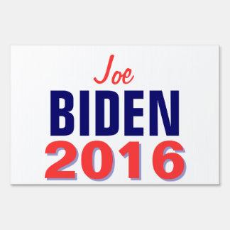 Biden 2016 lawn sign