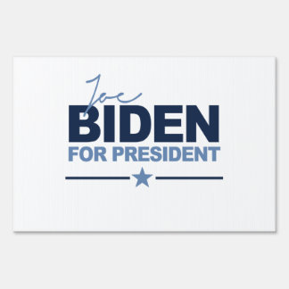BIDEN 2016 SIGNERICA - png Lawn Sign