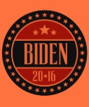 BIDEN 2016 STARCIRCLE -.png Tshirt