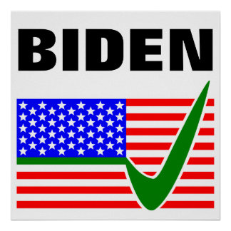 Biden 2016 USA Election President Poster