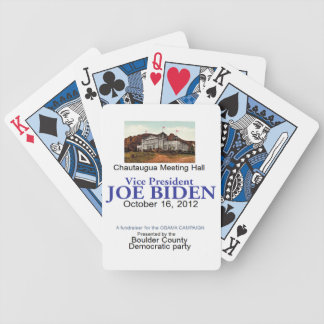 Biden Chautaugua Bicycle Playing Cards