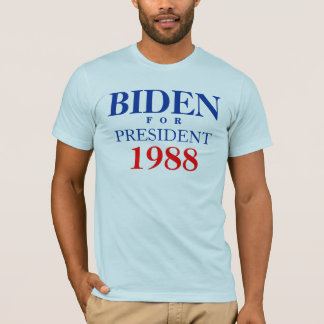 BIDEN, F   O   R, PRESIDENT, 1988 - Customized T-Shirt