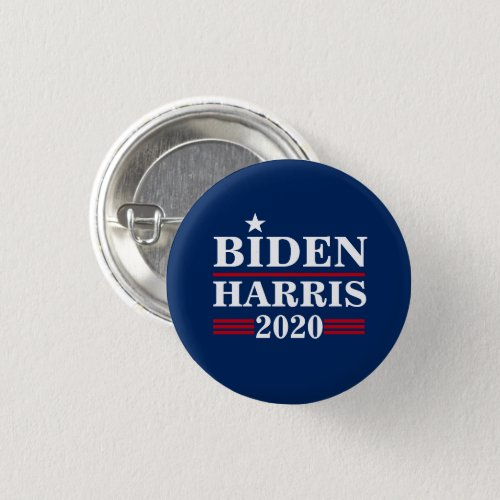 Biden Harris 2020 Blue Pin Button