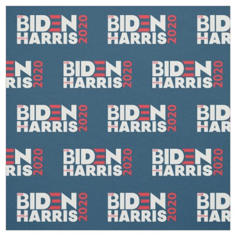 Biden Harris 2020 Election Campaign by the Yard Fabric