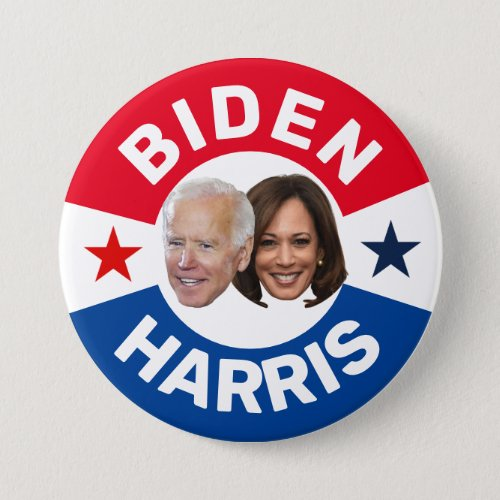 BIDEN  HARRIS BUTTON
