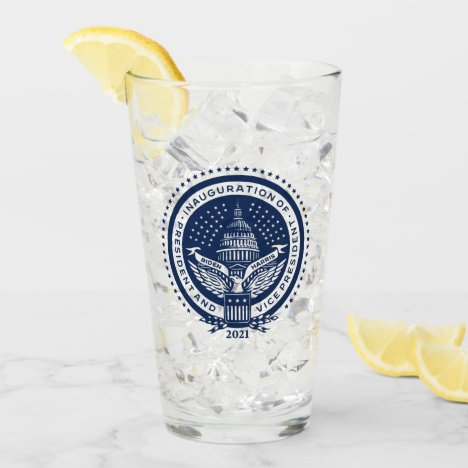 Biden Harris Inauguration day 2021 Glass